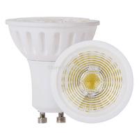 6W Led Bulbs GU10 450lm Warm White Ceramic 38 Beam Angle 1 COB 45w Replacements 10 PCS