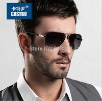 2014 Alloy Frame Design Polarized Men's Sunglasses Male TAC Technology Driving Fishing Sports Man Aviator Protection Eyewears
