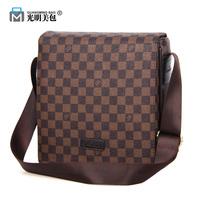 new 2014 hot sale fashion men bags, diagonal men pu leather messenger bag, high quality man brand business bag, wholesale price