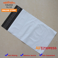 17*30CM(50pieces/lot) Free Shipping White Self-seal Mailbags Plastic Envelope Courier Destructive Postal Mailing Bags Grade A