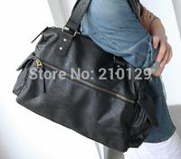 Free shipping fashion leisure PU shoulder bag for men,laptop bags for man,men shoulder bag,mens bags high quality PU