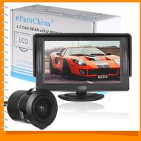 4,3-дюймовый цветной tft lcd hd цифровая панель авто монитор заднего автомобиля монитор резервного копирования парковка автомобиля заднего для обратного камер