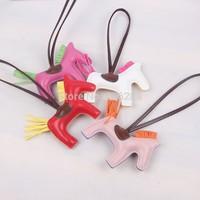 lady fashion PU leather horse shape handbag ornaments bag accessories 9 COLOR