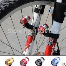 Hot Sale 2pcs/lot Aluminium bike light,bike led,bike lamp,bicycle light,bicycle lamp bicycle led,light Front Lights 4 colors(China (Mainland))