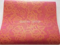 2014 NEW DESIGN African SEGO headtie, Gele&Ipele,Head Tie & Wrapper, 2pcs/set ,AQUA ST1106 fushia pink