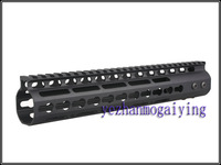 NEW Free Float NSR 11.0 Inch Handguard One-piece Top Rail System KeyMod High Quality Lightest FDE For AR-15 M4 M16