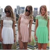 2014 NEW sexy chiffon halter dress