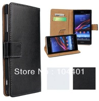 For Xperia E2 Wallet case,New Book Style Stand Leather Card Flip cover Case For Sony Xperia E2
