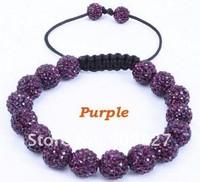 New arrive Free Shipping Jewelry one direction wrist band rock Shamballa Bracelet for women/men gift