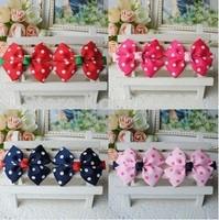 New Style Beautiful Headband Hairband Baby Girls Flowers Headwear Kids' Hair Accessories Baby Christmas Gift 10pcs/lot
