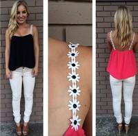 Hot Summer loose thin straps sleeveless chiffon shirt bottoming vest clothing