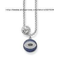 wholesale women gift  men gift necklacesKarma Beads necklaces tsa0109 heart and Turkish evil eye