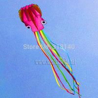 SALE 5.5m Stunt POWER Sport Kite Lovely Pink octopus + free gift