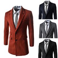 Free shipping2014 New Gentle Men Vest Men's Formal Suit V-necked vest Slim Fit Fashion 4 colors M-XXL