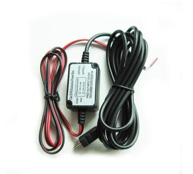 Down transformer Power adapter cable for Car DVR camcorder Car Camera(China (Mainland))