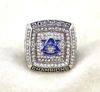 Men ring Replica rhodium plated NCAA 2013 Auburn Tigers NCAAF SEC BCS National Championship ring-Mason Free Shipping