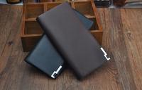 Fashion Men's Wallets,Long style Design Black wallet,12 card location, 2 money location ,High quality men purse