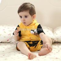 B105 2014 New Baby Infant Children Boy Girl Long Sleeve Letter Stripe Dots Bodysuits One-piece Cotton