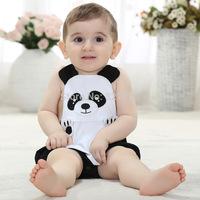 Retail 2014 Boy/Girl Cartoon hello kitty romper Short sleeves bodysuits Infants one-piece bodysuit Baby clothing