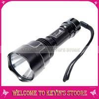 Ultrafire 1000Lm CREE XM-L C8 LED 5-Mode Flashlight Torch lamp light +holster