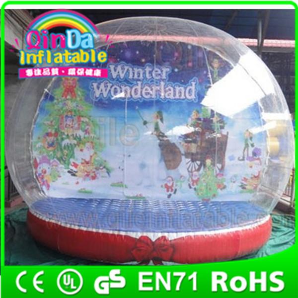 christmas promotion Giant snow globe, Inflatable Snow globe(China (Mainland))