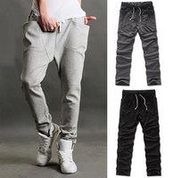 Free Shipping Vogue Mens Women Boys Casual Sports Dance Harem Sweat Pants Baggy Jogging Trousers
