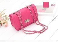 The new styling packet Quilted chain bag fashion handbags mini shoulder diagonal package small fragrant bag
