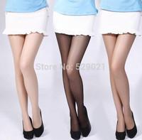 2014 new 10 pairs Sexy Full Foot Women's Long Stockings thin Semi Sheer Tights Pantyhose Panties Wholesales Wholesale