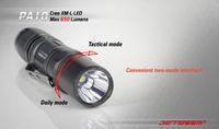 JETBeam PA10 XML T6 LED Flashlight - 650 Lumens AA Battery Flashlight