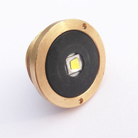 C8 C12  Brass Pill CREE XM-L2 U3 1800 Lumens 1-Mode LED Lamp Cap
