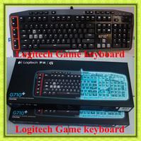Free shipping Logitech brand laptops&desktops Gaming Keyboard G710+  dota 2 ,computer mechanical keyboard,gaming,Free Key Puller