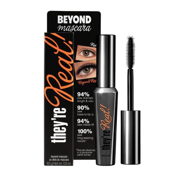 Fashion new Professional Black They re Real Beyond Mascara eyelashes Thick Lengthening Makeup Eyelashes Mascara Brand