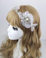 Luxury Handmade Crystal Pearl Wedding Tiara Hair Jewelry Bridal Rhinestone Tiaras And Crowns Vintage Headpiece Headwear WIGO0329