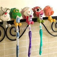 New 2014 High Quality Bathroom Product/Lovely Mini Toothbrush Holder/Household Animal Type Toothbrush Holder