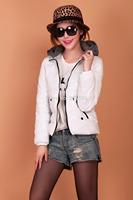 Brand New white Womens Lady Cotton Jacket Coat Winter Warm Padded Puffer Girl coat