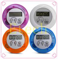 Novelty Digital Kitchen Timer Kitchen Helper Mini Digital LCD Kitchen Count Down Clip Timer Alarm S1023