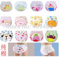 2PCS/LOT Baby Infant Cotton Waterproof Reusable Nappy Diaper LABS Training Pants Briefs Boy Girl Underwear Kid Training Pants