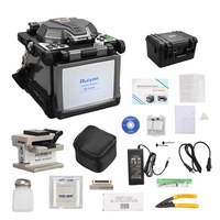 RY-F600 Digital Fusion Splicer with Automatic Focus Function Fiber Optic FTTH Tool Fiber Cleaver