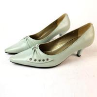 Woman Sweet Pumps Low Heel Shoes Genuine Leather Shoes Pumps