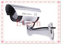 Cheapest Emulational IR Fake Decoy Dummy Security Surveillance CCTV Outdoor Bullet Waterproof Video Camera System S1025