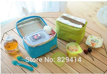 Высокое качество портативный тепловая обед сумки уникальный дизайн водонепроницаемый ...