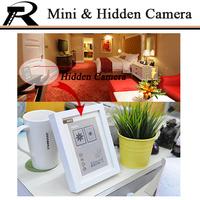 Mini camera Hidden Camera Mini DV WIFI Photo frame H.264 HD720P Remote Viewing&peer-to-peer mode Monitoring at IE Free shipping
