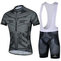 COOL! 2015 Bat Maillot Ciclismo Cycling Jersey Bib Shorts Ropa Ciclismo /Summer Cycling Clothing DH17 Free Shipping