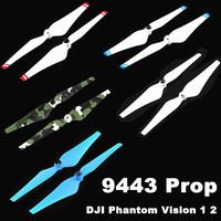 4PCS/Lot 1Pair DJI 9443 Self-Tightening Nylon Props Propeller Blade for DJI Phantom Vision 1 2 Quadcopter