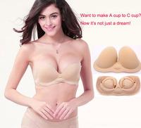 2014 New Design Miss Bobo Genuine Buoyancy Invisible Bra Underwear Lingerie Bra Ultra Breathable Aerated Push Up Dress Bra