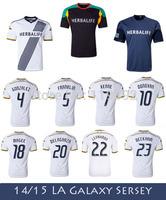 BECKHAM DONOVAN Jerseys 2015 Men's L.A Soccer Jersey 14 15  Los Angeles Galaxy Football Shirt