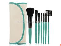 Beauty goods Brand 7 pcs Make up Brushes Tools 7pcs Eye make-up Soft brushe set Cosmetics outdoor Makeup Brushes Kits with bag