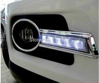 High Quality LED DRL fog light for VW Volkswagen Tiguan daytime running light Free shipping