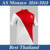 AS Monaco 14 15 Jersey Falcao James Home Soccer Jersey Best Thail Quality Football Soccer Uniform