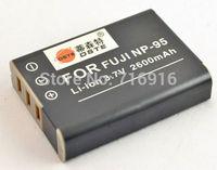 2600 mAh NP-95 NP95 Battery For FUJI FinePix F30 F31fd Real 3D W1